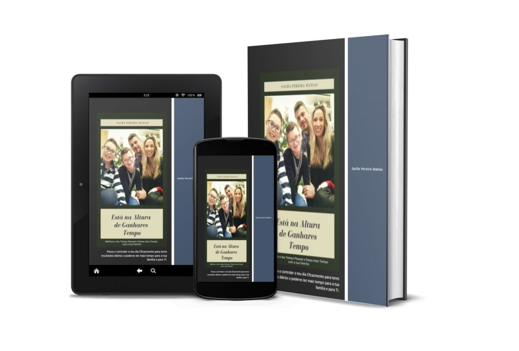 Está na Altura de Ganhares Tempo, E-Book de Ferramentas de Gestão de Tempo por Sacha Matias