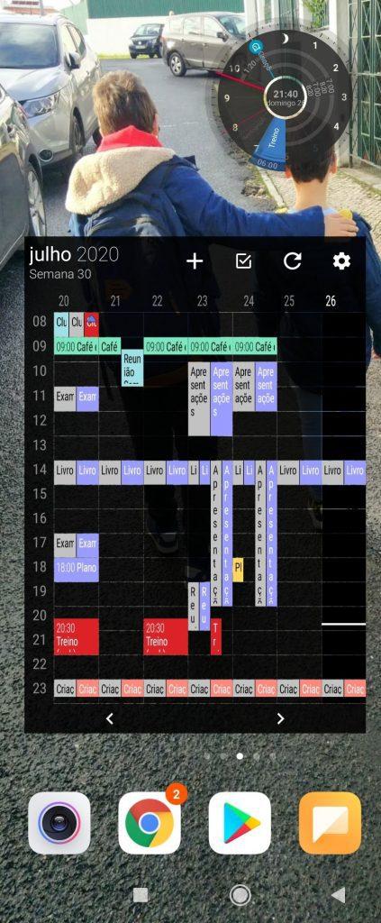 Agenda no telemóvel para calendarizar actividades, por Sacha Matias e Dr. Perfomance, for Business